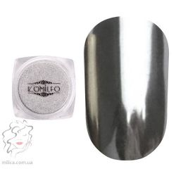 Komilfo Mirror Powder №001, серебро, 0,5 г